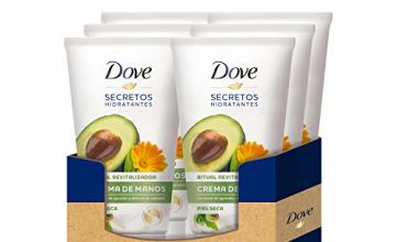 Dove Avocado Oil and Extract of Calendula Hand Cream 75 ml – [Pack of 6]