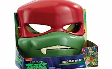 Save on Teenage Mutant Ninja Turtles TU204300 The Rise of the Teenage Mutant Ninja Turtles Raph Role Play Mask and more