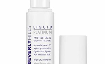 Beverly Hills 7.5% Liquid Platinum Fruit Acid Facial Peeling Solution with 3 AHAs