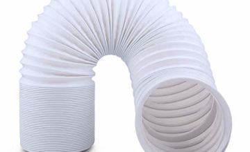 Rhodesy Portable Air Conditioner Hose, Venting Duct Hose Extension PP 5.9 Inch Diameter Universal with Length 59 Inch
