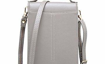 Small Cross Body Bag,Women PU Leather Shoulder Bag Cellphone