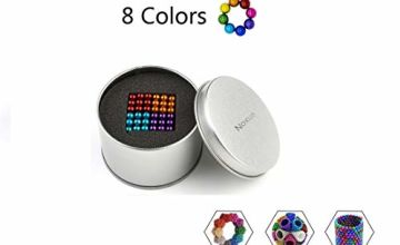Noxus Magnets Blocks Sculpture Toys with 216pcs and 5mm for Intelligence Development and Stress Relief, Great for Office School Home Education