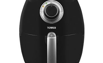 Tower Air Fryer with Rapid Air Circulation System, 1350 W, 3.2 Litre, Black