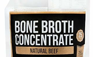 Bone Broth New Premium Beef Bone Broth Concentrate - 100% Sourced from AU Grass-Fed, Pasture-Raised Cattle - Healthier Skin & Nails, Healthy Digestion - Bone Broth Collagen (Original 250G)