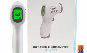 AGM Forehead Infrared Thermometer, Two Measurement Modes Non-Contact Digital LCD Handheld Thermometer, Accurate and Fast Measurement Temperature for Baby, Adults and Objetcs (New Version)