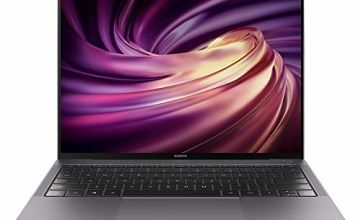 HUAWEI MateBook X Pro 2019 - 13.9 Inch Laptop with 3K FullView 10-point Touchscreen, Intel Core i7, 8GB RAM, 512GB SSD, NVIDIA GeForce MX250, Windows 10 Home, Quad Dolby Atom Speakers, Space Grey