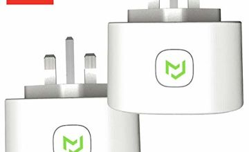 Smart Plug, Meross WiFi Smart Socket Compatible with Alexa Google Home SmartThings Voice Control No Hub Required (2 Pack)