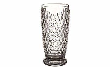 Villeroy & Boch Boston Long Drink Glass, 400 ml, Crystal Glass, Transparent
