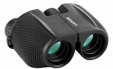 High Powered 10x25 Binoculars with Low Light Night Vision, SGODDE Compact Folding Binoculars Fit for Adults and Kids,Waterproof Great for Outdoor Hiking,Shooting,Travelling,Hunting,Bird Watching