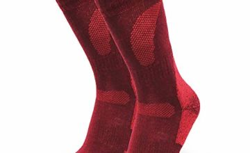 DANISH ENDURANCE Merino Wool Hiking & Walking Socks 1 pack, for Men Women Children, Trekking