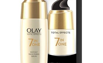 Olay Total Effects 7-in-1 Anti-Ageing Instant Smoothing Serum with Niacinamide, Vitamin C and E, 50 ml