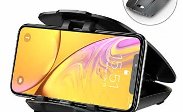 Babacom Car Phone Holder, Phone Mount for Car Dashboard/Windshield, 360° Rotatable Extendable Arm Car Phone Cradle for iPhone 11 Pro Max/Xs Max/XS/X/8 plus, Samsung Note 10/9/8/S10 Plus/S10e/S10/S9