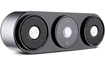 Bluetooth Speaker, ZENBRE Z3 10W Portable Wireless Speakers with 20h Playtime, Computer Speaker with Dual-Driver Enhanced Bass Resonator