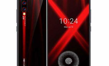 UMIDIGI X Smart Phone SIM Free 4G Smartphone 48MP AI Triple Camera 128GB Mobile Phone Unlocked with In-screen Fingerprint Scanner 6.35 Inch AMOLED Full Screen Android 9 Phone 4150mAh Battery [Black]