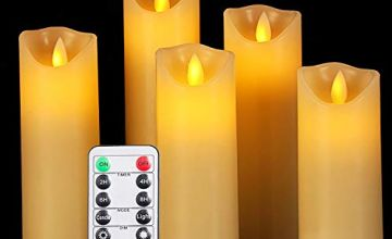 OSHINE Flameless Candles Remote Control Tea Lights,Gift Decoration, Party