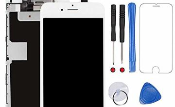 for iPhone 6S Screen Replacement White Touch Display LCD Digitizer Assembly With Front Facing Camera Proximity Sensor+Ear Speaker+Full Repair Tools