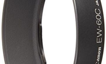 Canon EW60C Lens hood for EF28-80mm f3.5-5.6/2, U/4, U/5, EF28-90 f4.0-5.6 II, U/2, Black