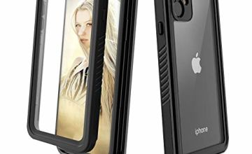 Beeasy iPhone 11 Case IP68 Waterproof Built-in Screen Protector, iPhone 11 Shockproof Case Front and Back Full Body, Military Rugged Tough Armor iPhone 11 Cover, Heavy Duty Protective iPhone Case