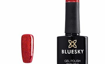 Bluesky Limited Edition UV/LED Soak Off Gel Nail Polish, Santa Red Dream 10 ml