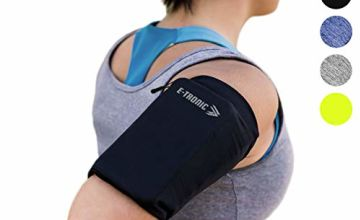 Phone Armband Sleeve Best Running Sports Arm Band Strap Holder Pouch Case Gifts for Exercise Workout Fits iPhone 6 6S 7 8 X Plus iPod Android Samsung Galaxy S8 S9 Note 5 9 Edge. For Women & Men