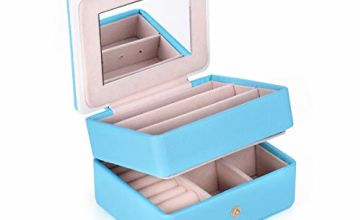 LELADY JEWELRY Small Travel Jewellery Box Mini Jewellery Cas