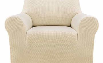 Deconovo Jacquard Sofa Cover Polyester Spandex Fabric Stretch Slipcovers