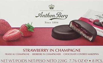 Anthon Berg Strawberry and Champagne Marzipans 220 g