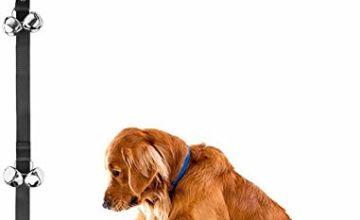 Zellar Dog Puppy Doorbells, Length Adjustable Loud Dog Puppy Potty Toilet House Training Door Bells