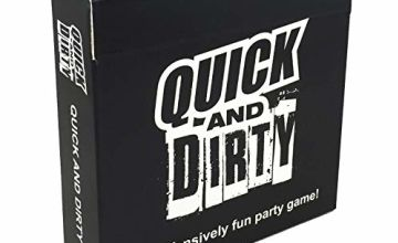 Quick And Dirty - An Offensively Fun Party Game - Funny adult party game with optional drinking game rules. Great for a party, bar, birthday, hen do, etc.