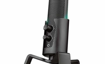Save on Trust Gaming GXT 258 Fyru USB 4-In-1 Streaming Microphone for PC, Laptop and PS4 - Black and more