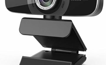 Aoboco Webcam Streaming HD 1080p Webcam Auto-focus with Dual Noise-Concelling Mic, USB Pro Web Camera Stream for PC Mac Windows Laptop Twitch Xbox One Skype OBS Xsplit