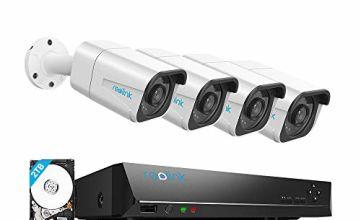 8CH Ultra HD 4K PoE CCTV Camera System by Reolink