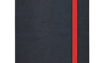 Oxford Black n' Red, Journal, A5 Notebook Hardcover, Casebound, Lined & Numbered, 144 Page, 1 Notebook