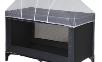 Nattou 11000 Mosquito Net with Arches for Travel Cot 120 x 60 cm