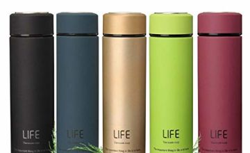 king do way Insulated Stainless Steel Water Vacuum Bottle Double-walled Coffee Cup Flasks Thermo for Hot and Cold Drinks,Travel Mug for Outdoor Sports Hiking Running, 500ml /18 oz