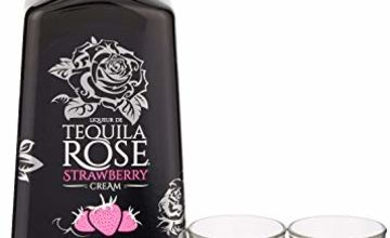 Tequila Rose Gift Set with 2 shot glasses, 50ml
