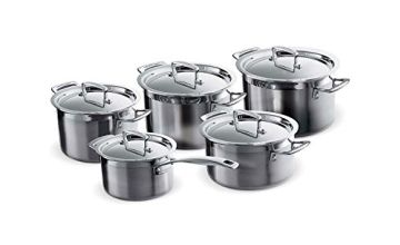 Le Creuset 3-Ply 5-Piece Cookware Set