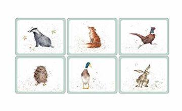 Pimpernel Wrendale Designs Placemats,  Set of 6