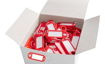 Helix Key Hangers - Red (pack of 100)
