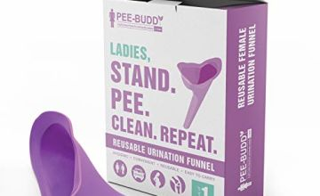 PeeBuddy Reusable Portable Female Urination Device for Women - 1 Unit - Perfect for Travel, Outdoor Activities Including Camping, Hiking and Festivals