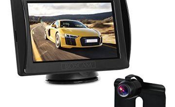 BOSCAM K3 Reversing Camera Kit, Reverse Camera with 4.3'' LCD Monitor, IP68 Waterproof Night Vision Rear Camera