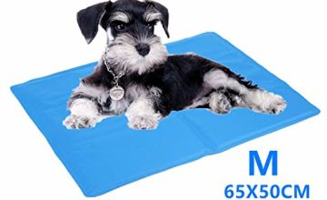 Cadosoigh Dog Cooling Mat Large 90x50cm, Durable Pet Cool Mat Non-Toxic Gel Self Cooling Pad, Great for Dogs Cats in Hot Summer