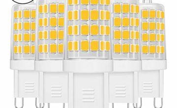 LE G9 LED Light Bulbs, 5W, 340lm