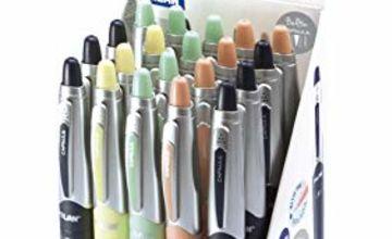 Display 20 Capsule Silver Pens