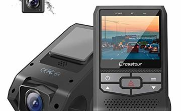 Crosstour Dash Cam Front and Rear CR600-LD