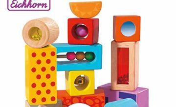 Eichhorn 100002240 Building Blocks, Multicolour