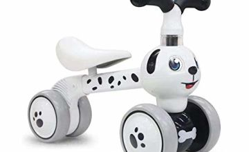 XIAPIA Baby Toddler Tricycle Bike No Pedals 10-36 Months Ride-on Toys Gifts Indoor Outdoor Balance Bike for One Year Old Boys Girls First Birthday