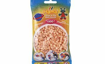 Hama Beads - Night Glow Red (1000 Midi Beads)