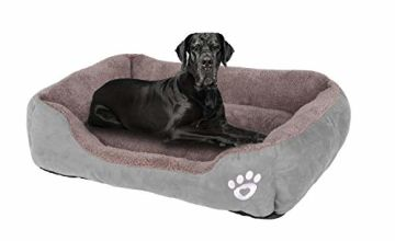KIMIPET Dog Bed Medium,Warm Soft Comfortable Pet Bed Sofa XL 80 * 60cm for Medium Dogs Cats Small Pets