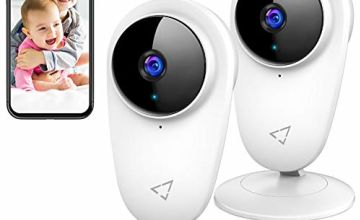 Victure WiFi IP Camera 1080P Baby monitor Pet Camera 2pc with Motion Detection Two Way Audio for Baby/Pet/Nanny Monitor